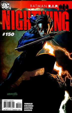 Nightwing #150 R.I.P. (2008) Death Of Batman DC comic book